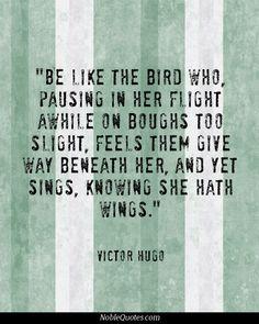 The Bird - Victor Hugo