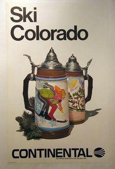 Continental Airlines ~ Ski Colorado