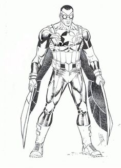 All-New Captain America/Falcon redesign by Carlos Pacheco *