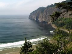 Cape Lookout Trail in Oregon