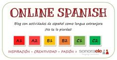 Mi Blog de profesora desde 2011 con actividades que he ido creando para [mis] estudiantes de español como lengua extranjera. ¡Hay más de cien! ¡Os invito a visitarlo!