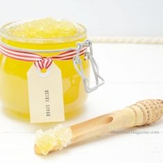 This great smelling and easy to make scrub has muscle relaxing properties and will help detox your system while you scrub. Enjoy!