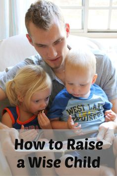 How to raise a wise child in today's world #motherhood #Christian #parenting what about the older kid in the middle?
