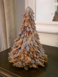 Diary of a Creamamma: Bush Christmas with pine cones and glitter