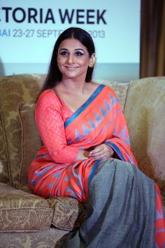 Vidya Balan, the brand ambassador of the Indian Film Festival of Melbourne (IFFM). #Bollywood #Fashion #Style #Beauty