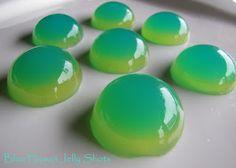 Blue Hawaii Jelly Shots
