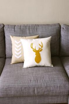 Decorative Deer Cushion