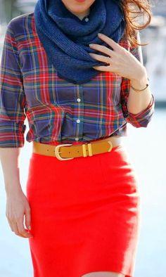 Adorable fall street fashion style