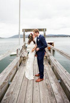 dockside wedding | via: elizabeth dawson design