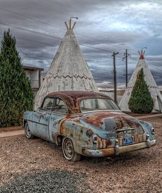 At the Wigwam Motel
