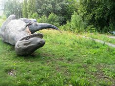 Kulturpark in Berlin: An abandoned Amusement Park becomes a public art space.