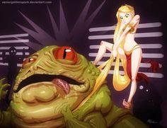 Rapunzel Kills Jabba - Disney/Star Wars Mashup