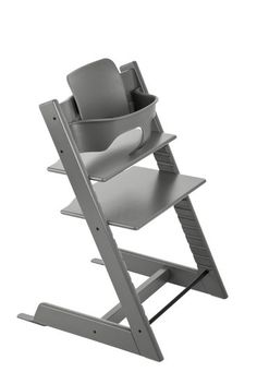 Tripp Trapp® Chair Storm Grey with Baby Set