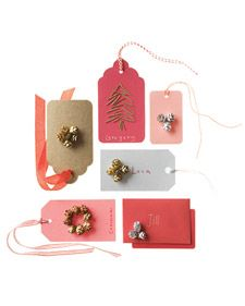 I don't care about the gift... just give me these cute little tags.