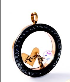 Just what I wanted, a black face with black Swarovski crystals! Thank you Origami Owl! Coming soon...Holidays 2014