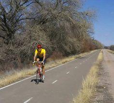 Bicycle Trail near the Rio Grande in Albuquerque