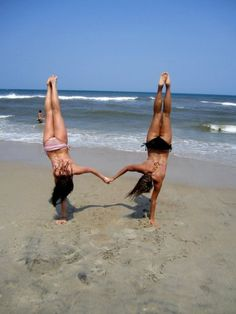 me & elly are gonna do this on the beach.. cause we're best friends