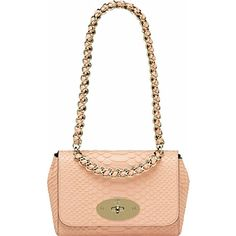 If anyone wants to treat me... *sigh* MULBERRY Cecily silky snake-print shoulder bag
