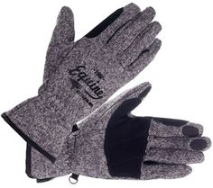 Horze Touch Screen Knitted Gloves | ChickSaddlery.com