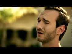 """Nick Vujicic - """"Something More"""" Music Video    I love this song and video, it has so much meaning!"""
