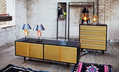 'Locker' credenza and dresser, by Magnus Pettersen, spotted by W* at Clerkenwell Design Week 2013