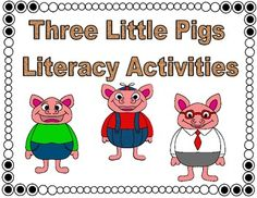 This Three Little Pigs bundle of literacy activities features CCSS aligned activities such as research project, an emergent reader, opinion writing, and more. Your class is sure to love it!