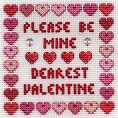 Dearest Hearts, designed by Jan Eaton, from Tom Pudding Designs.