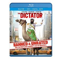 The Dictator - BANNED & UNRATED Version (Two-disc Blu-ray/DVD Combo + Digital Copy) (2012).Price: $21.99