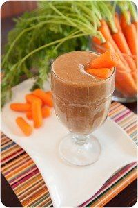 CARROT CAKE VI SHAKE;  2 scoops Vi-Shape Shake Mix,  ½ c. sliced carrots,  1 tbsp. fat-free cream cheese,  Dash of cinnamon,  Dash of nutmeg,  8 to 10 oz. of Non-Fat, Soy, Rice or Almond milk,  4-6 ice cubes.  Blend   www.katierobinson.myvi.net