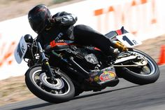 Dennis Parrish in action at Willow Springs (2013).