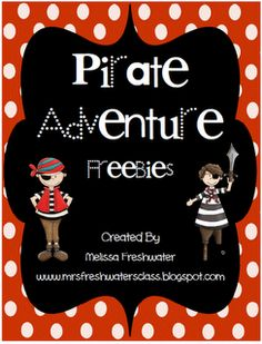 Yo Ho Ho... A Pirate Freebie for you
