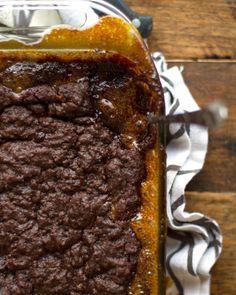 Gooey Chocolate Caramel Cake