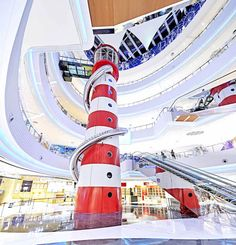 DNA shopping mall by