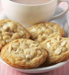Almond White Chocolate Chunk Cookies