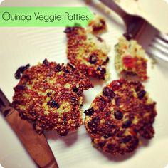 Veggie Quinoa Patties