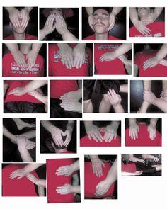 Reiki Hand position