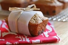 Peanut Butter Banana Chocolate Chip Bread {mini loaves!}