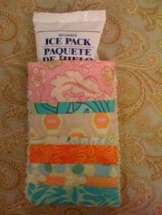 icepack cover, crafter guru, sew crafti, sew project, ice pack cover, sew idea, craft idea, ice packs, crafti chic