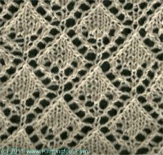 Knitting Stitches on Pinterest Stitches, Knitting Scarves and Lace Patterns