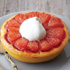 You'll never eat grapefruit the same way after trying Brown Sugar Broiled Grapefruit. The slightly sweet vanilla cream takes this breakfast treat from good to great.