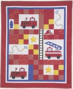 Hip Baby Fast and Easy Baby Quilt Pattern from Busy by