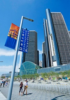 Itinerary for an overnight getaway in Detroit. Shop at a historic public market, stroll along the landscaped RiverWalk, watch a Tigers game and see one or more of the area's excellent museums. Details: http://www.midwestliving.com/travel/michigan/detroit/two-day-getaway-to-detroit/