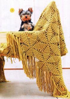 Cubiertas y accesorios - Patrones Crochet para el bebé