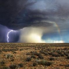 supercell vs. rainbow