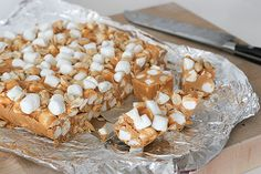 Fast and Easy Butterscotch Rocky Road