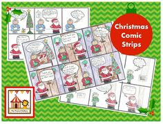 Christmas Comic Strips
