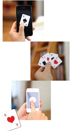 Playing Cards Cellphone Screen Cleaner