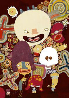 Illustration on Dripbook : : Oksana Grivina | illustrations | Aveiro, Portugal