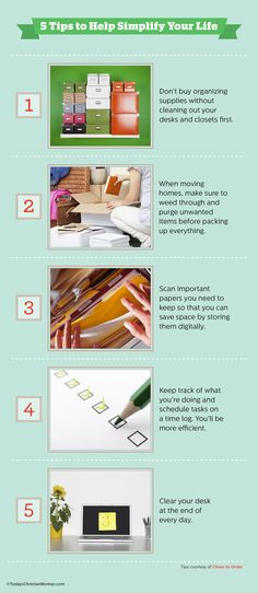 5 Tips to Help Simplify Your Life