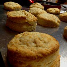 Cream Biscuits! by @Elizabeth Silbermann. Recipe by smittenkitchen http://tinyurl.com/y8dmzl9 #Cream_Biscuits #Biscuits